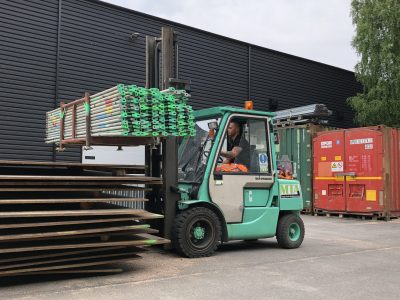 Truckkort utbildning Motviktstruck